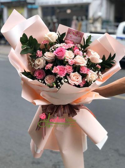 Bó hoa hồng - Ngọt ngào