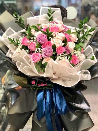 Bó hoa hồng - Người anh thương