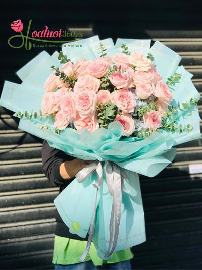 Bó hoa hồng Ohara - Ấm áp mỗi ngày