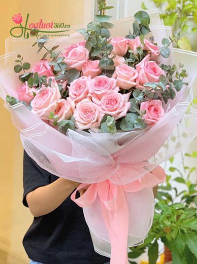 Bó hoa hồng Ohara Lady