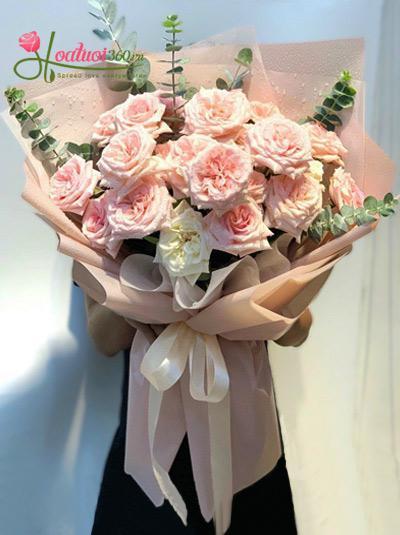 Bó hoa hồng Ohara - Thẫn thờ