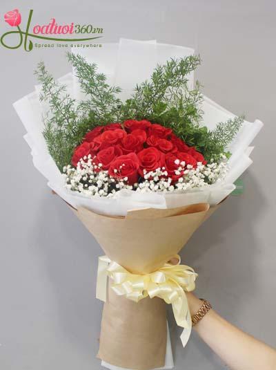 Bó hoa hồng - Sự ngọt ngào