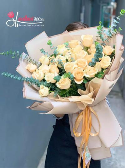 Bó hoa hồng - Thầm kín