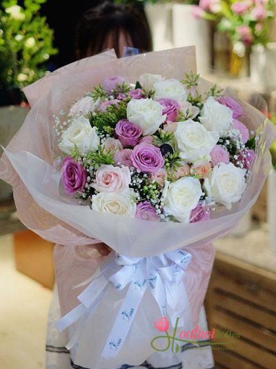 Bó hoa hồng  - Thanh tao