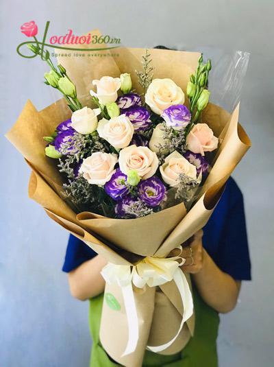 Bó hoa hồng - Thơ mộng