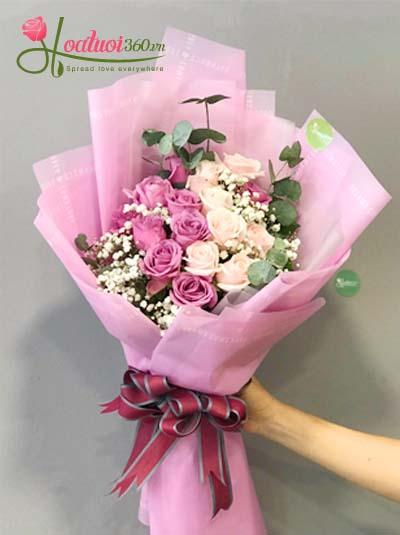 Bó hoa hồng - Tình Thơ