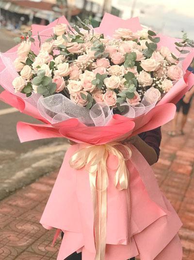 Bó hoa hồng tuyệt đẹp - Chỉ cần em vui