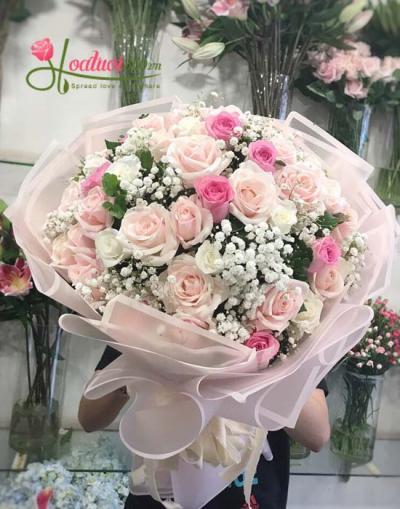 Bó hoa hồng tuyệt đẹp