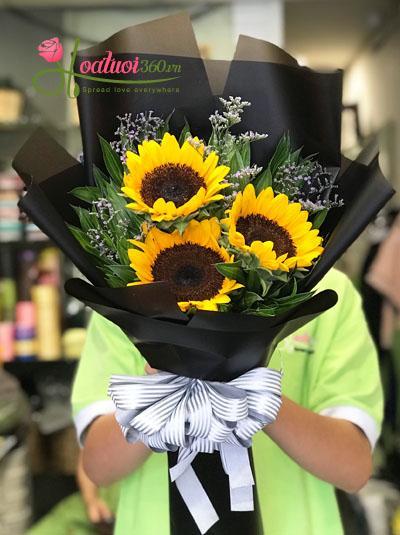 Bó hoa hướng dương- Điều bí ẩn