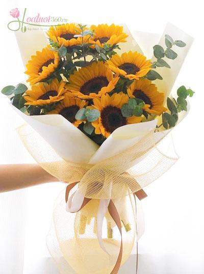 Bó hoa hướng dương- Điều tôi yêu