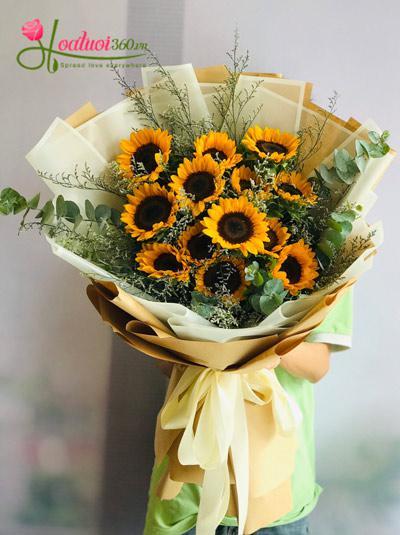 Bó hoa hướng dương - Đồng hành