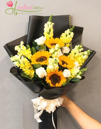Bó hoa hướng dương được ưa chuộng nhất