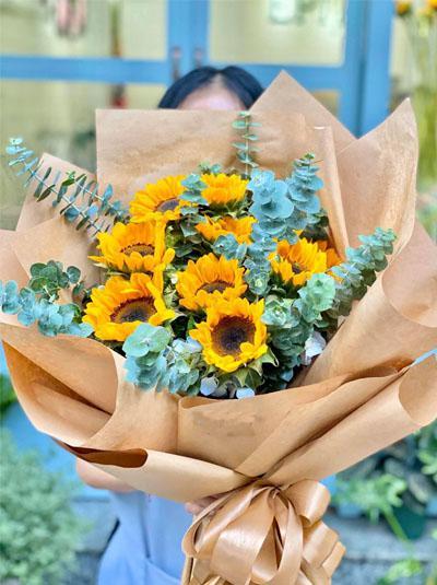 Bó hoa hướng dương - Mỗi ngày một niềm vui