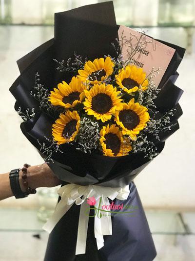 Bó hoa hướng dương - Nắng mặt trời