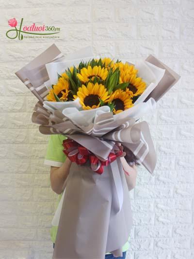 Bó hoa hướng dương - Niềm vui trao em