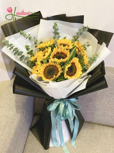 Bó hoa hướng dương - Sắc nắng