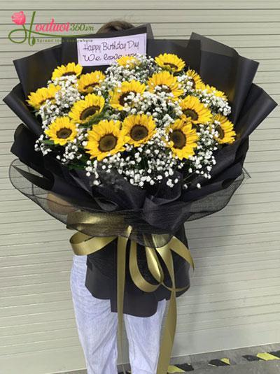 Bó hoa hướng dương - Shining