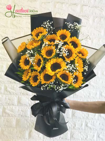 Bó hoa hướng dương - Tia nắng trong anh