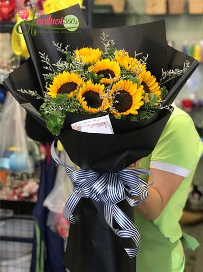 Bó hoa hướng dương - Tỏa sáng