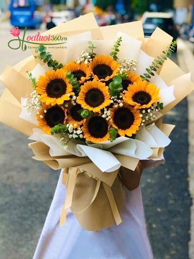 Bó hoa hướng dương - Your's style