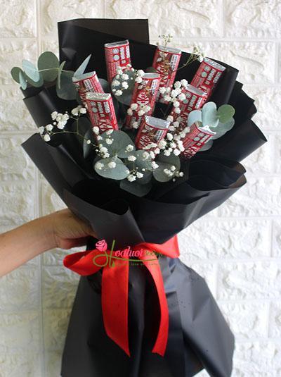 Bó hoa KitKat đáng yêu