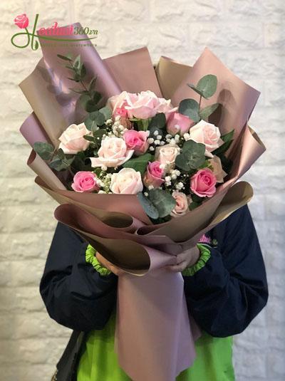 Bó hoa - Lời cảm ơn