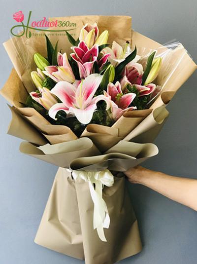 Bó hoa ly hồng - Chắc là yêu