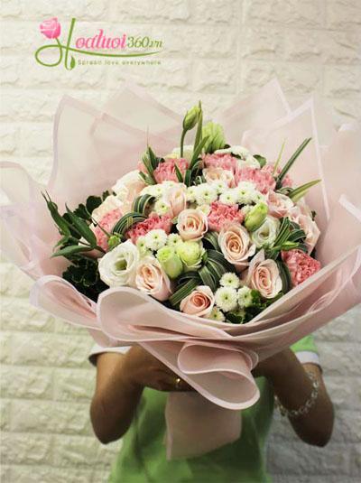 Bó hoa ngọt ngào