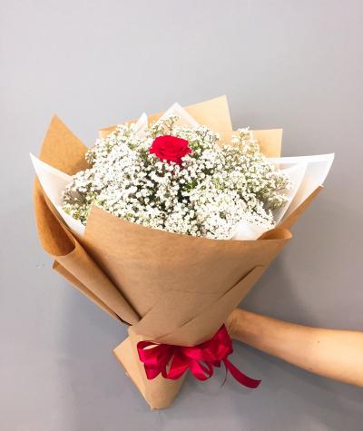 Only you hoa hồng song hỷ hoa tặng người yêu