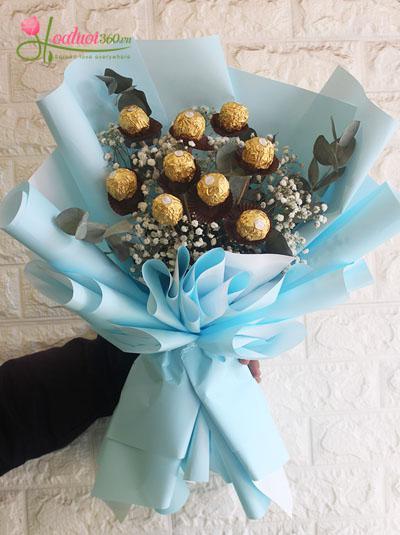 Bó hoa socola - Điều ngọt ngào