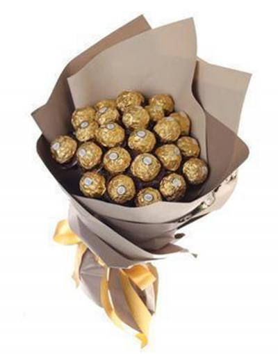 Bó hoa socola - Hương vị tình yêu