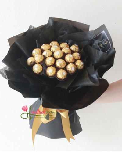 Bó hoa socola - Người bí ẩn