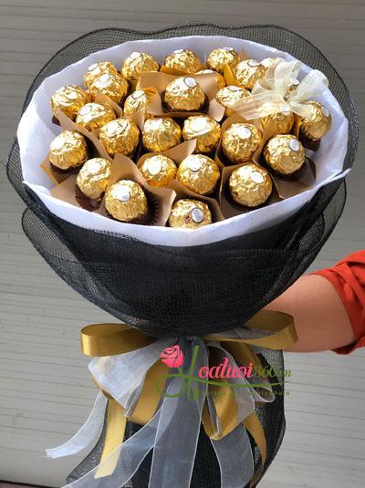Bó hoa socola - Tình yêu ngọt ngào