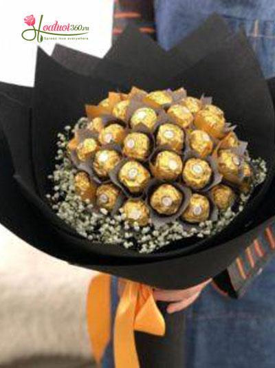 Bó hoa socola - Trái ngọt tình yêu