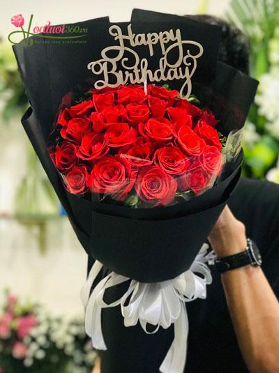 Bó hoa tặng sinh nhật đep nhất