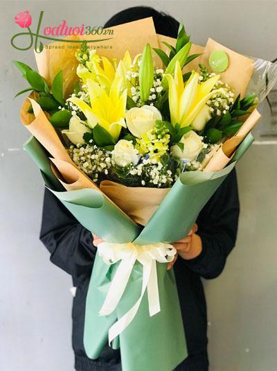 Bó hoa tặng sự kiện - Sang trọng