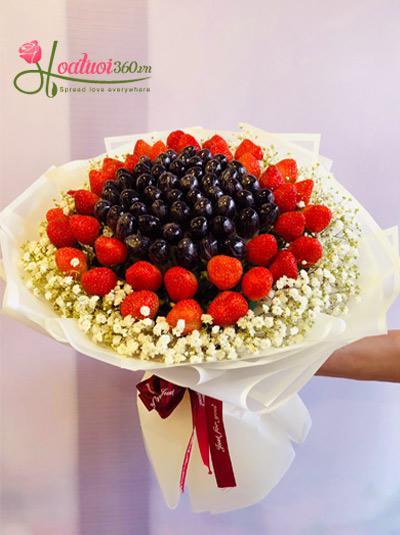 Bó hoa trái cây - Sweet story