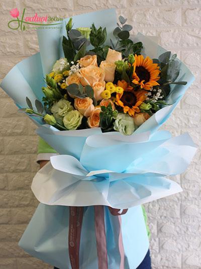 Bó hoa tươi đẹp - Điều hạnh phúc