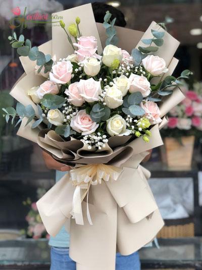 Bó hoa  tươi đẹp - Nét thanh tao