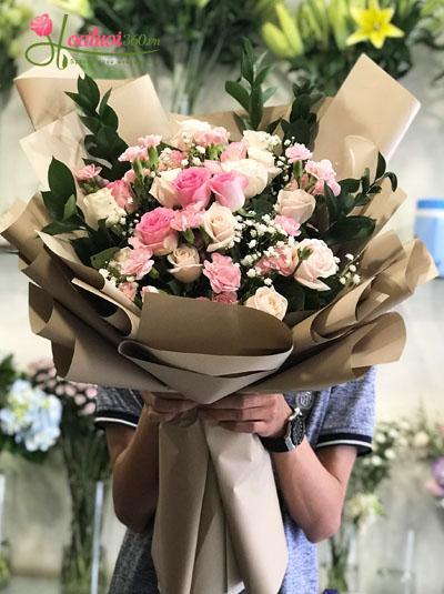 Bó hoa tươi- Em đẹp nhất đêm nay