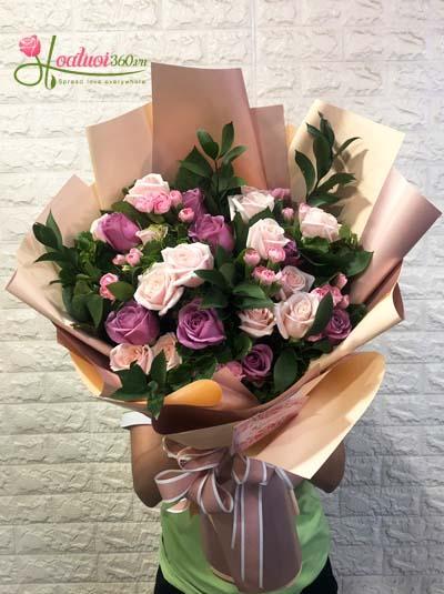Bó hoa tươi - Phong cách mới