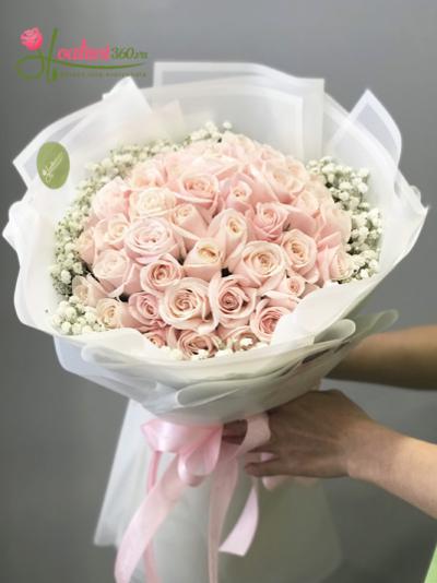 Bó  hoa tươi- Sự kết hợp hài hòa