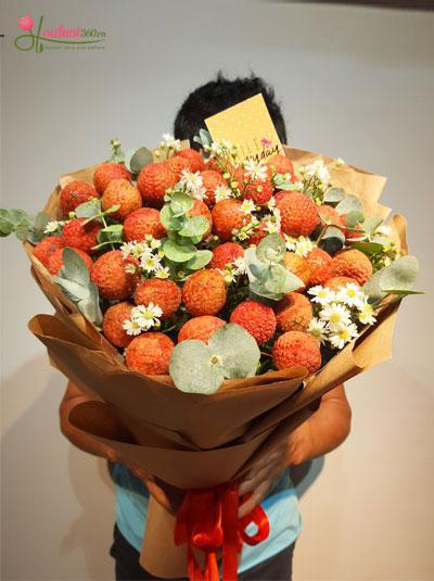 Bó hoa vải thiều - Vị tươi mát