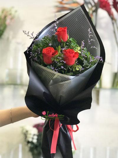Bó hoa xinh xắn