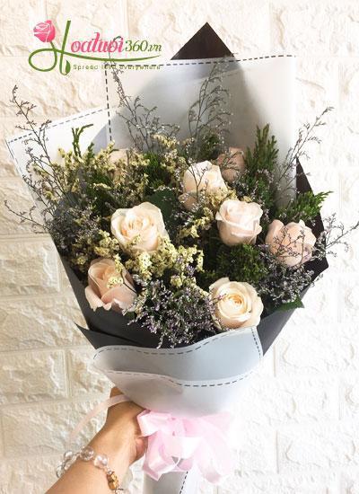 Bó hoa- Yêu xa