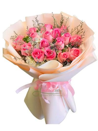 Bó hồng dâu ngọt ngào