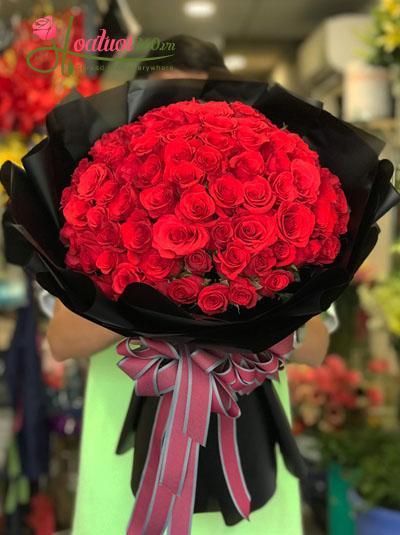 Bó hồng đỏ 99 bông