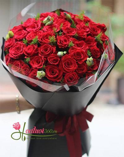 Bó hồng đỏ _ You are my everything