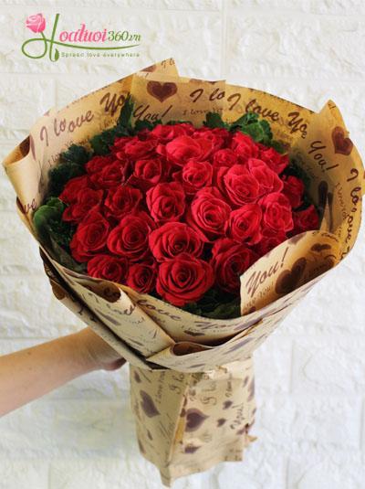 Bó hồng đỏ- Dằm trong tim