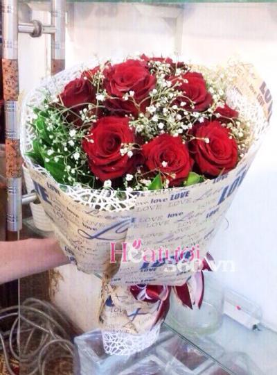Bó hồng Ecuador 01